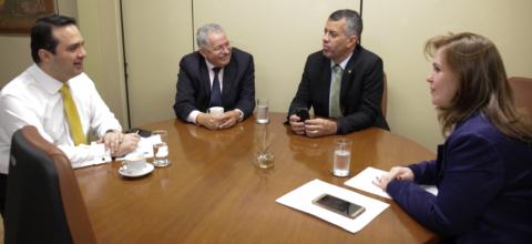 Bancada Verde se reúne em Brasília